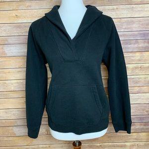 [J. Crew] Black V-Neck Pullover Sweater